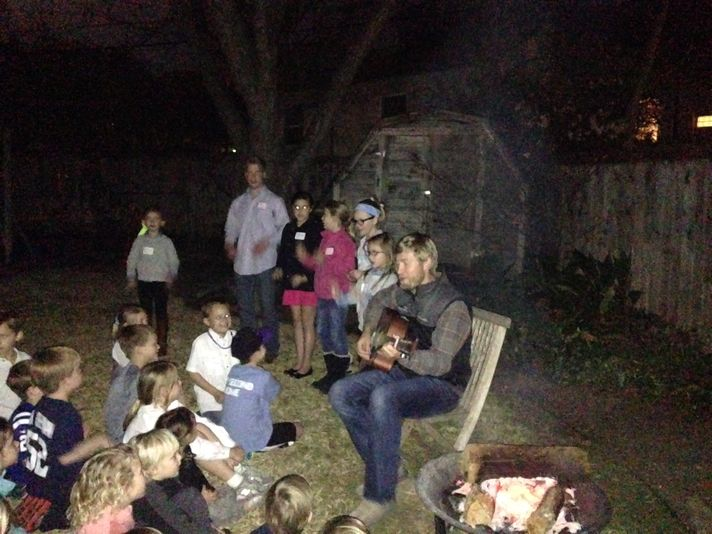 What better way to have Camp in January than with some good ol' Sing Song?