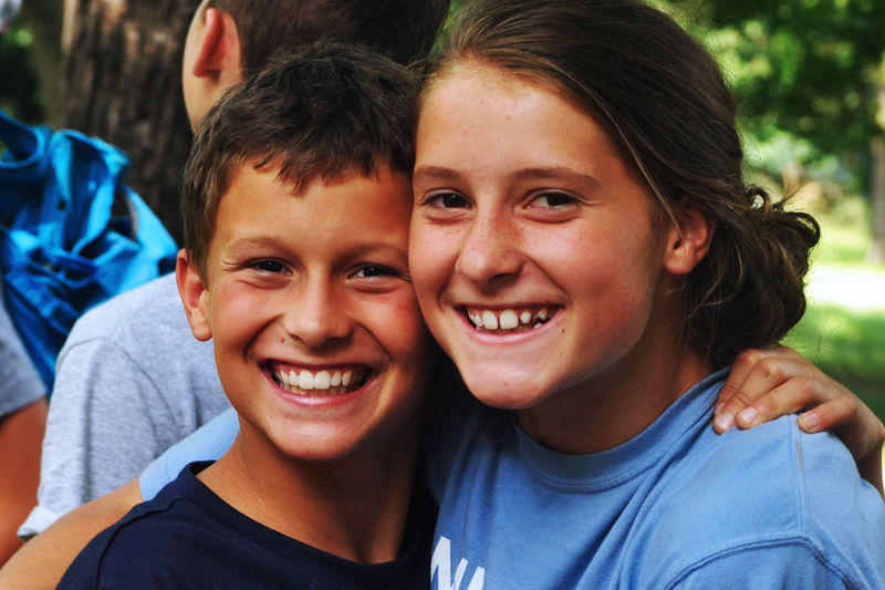 It's great to be a part of Erin (3 years at camp) & Evan (3 years at camp) growing even closer over the past 3 years at Camp.